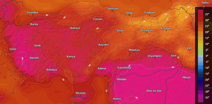 Turkiye geneli hava durumu