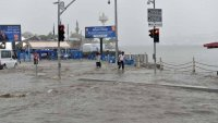 Ä°stanbul Ãœsküdar'da yine su baskını yaÅŸandı !