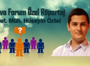 Hüseyin Öztel Röportajımız (Haber Türk Meteoroloji Editörü)