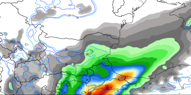 Batıya 5-6 saatlik, İç Bölgelere 24 saatlik kar geliyor…