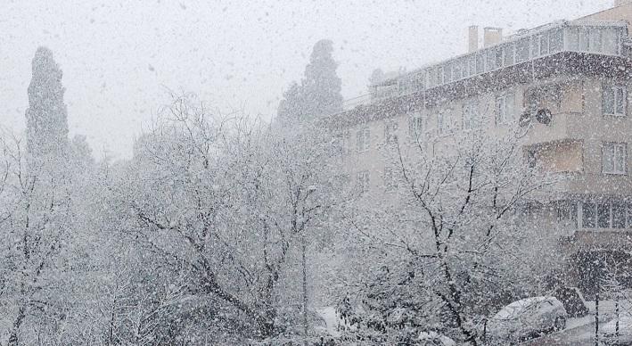 istanbul kar yagisi