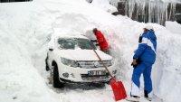 UludaÄŸ'da kar kalınlığı 2,5 metreyi aÅŸtı !