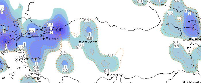 yagis tahmin haritasi