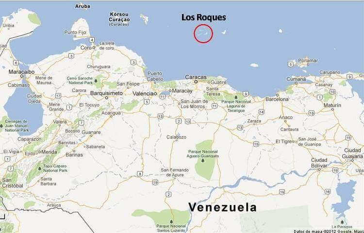los_roques_venezuela_map