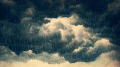 Yerel kuvvetli yağış ve gök gürültüsü !