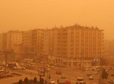 Dikkat: Güneydoğu Anadolu Bölgesinde toz taşınımı !