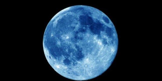 Yüzyılda 5 kez meydana gelen Mavi Ay…