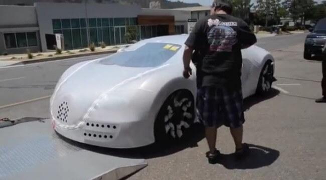10 Milyon TL'lik araç böyle sahibine veriliyor