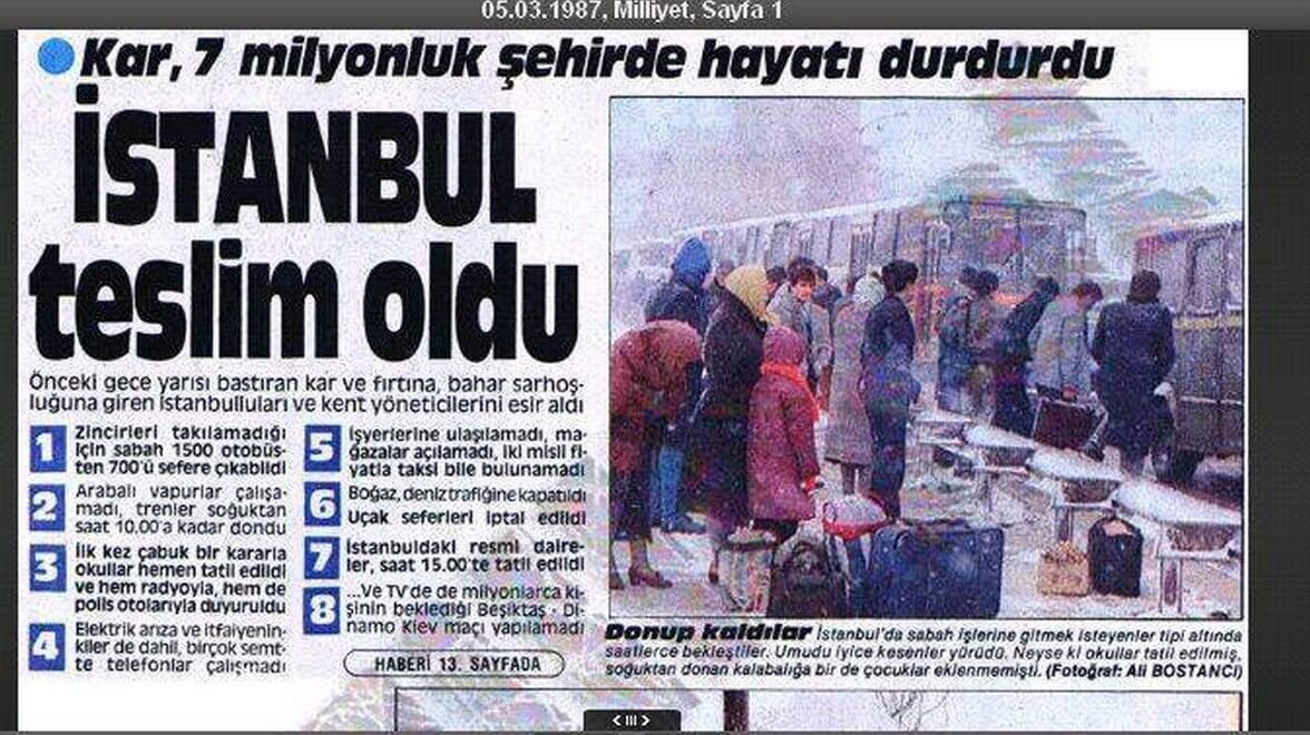 Mart 1987 - İstanbul