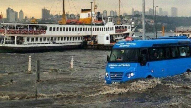 İstanbul'da Su Baskınlarına Dikkat!