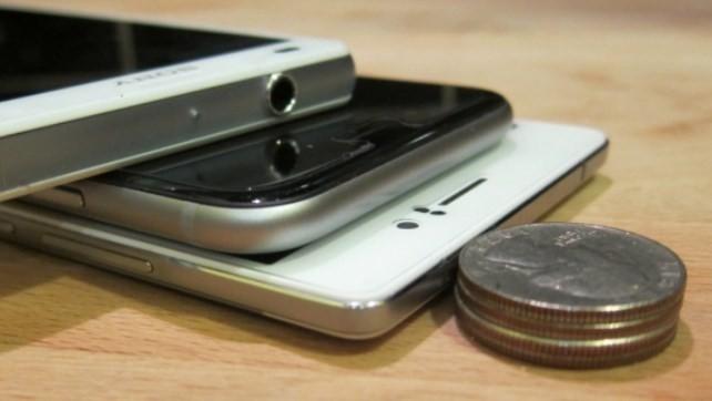 En ince 5 akıllı telefon