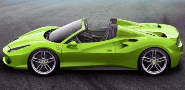 Ferrari 488 Spider özellikleri ve fiyatı