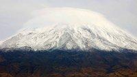 AÄŸrı Dağı'na Kar YaÄŸdı