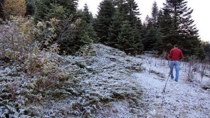 Uludağ ve Kartalkaya'ya İlk Kar Düştü!