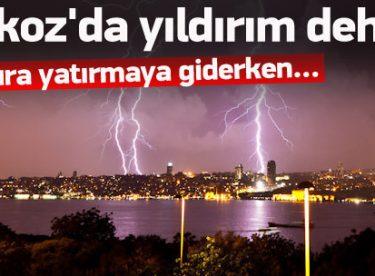 İstanbul Beykoz'da Yıldırım Dehşeti!