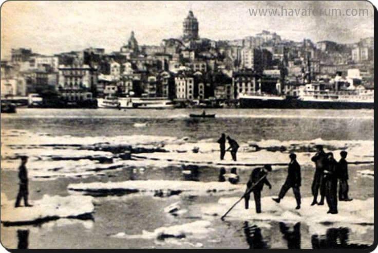 İstanbul'un Tarihindeki Kışlar