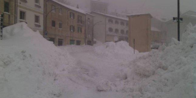 İtalya'da Deniz Etkisi Kar Etkili Oldu!