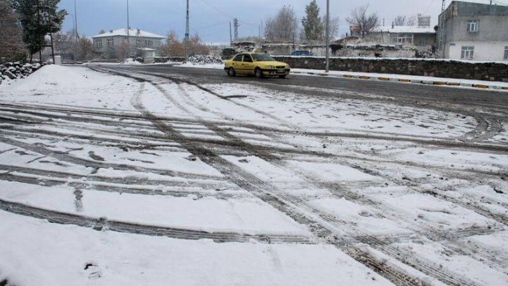 Doğu'da Mevsimin İlk Kar Yağışı…