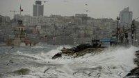 Marmara ve Ege'de Fırtına Uyarısı (27.10.2016)