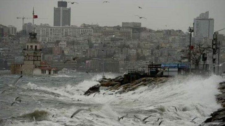 Marmara'da Fırtına Bekleniyor!