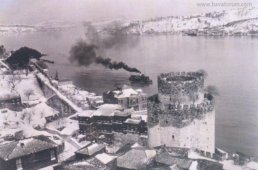 İstanbul Nostaljik Kar Fotoğrafları
