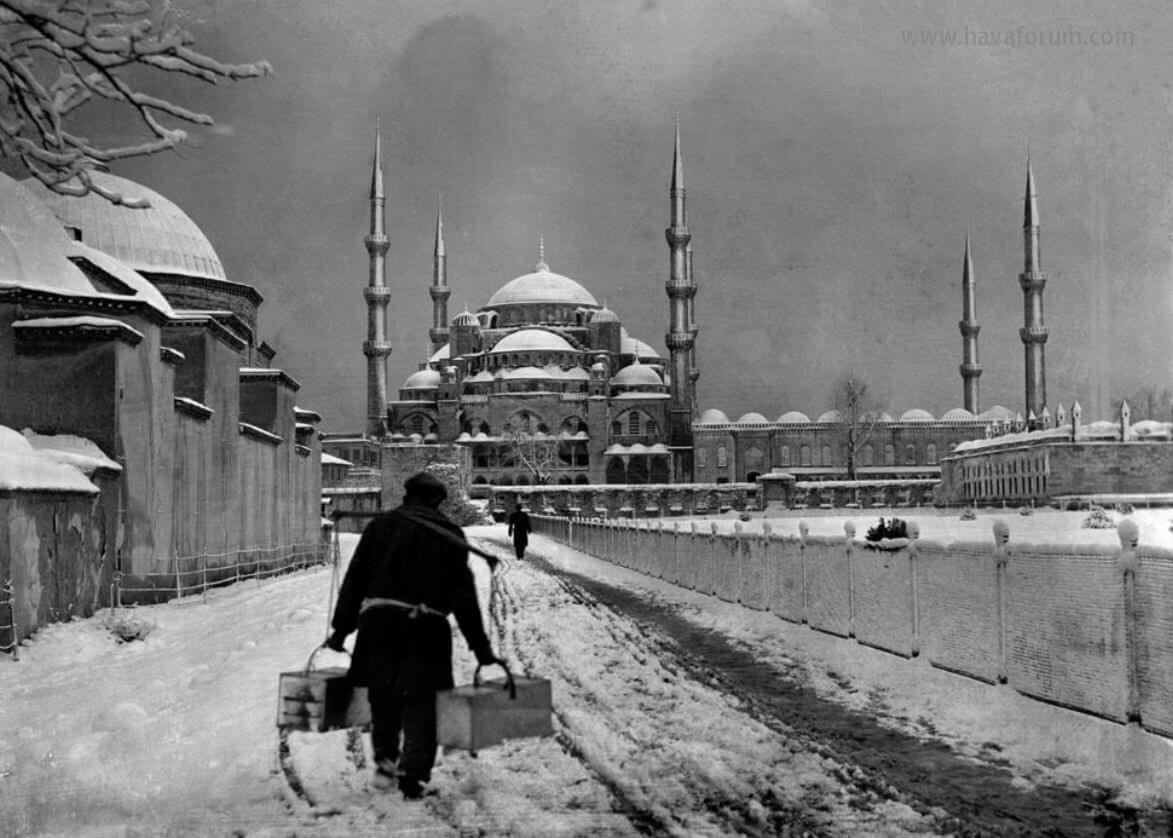 İstanbul Nostaljik Kış Fotoğrafları