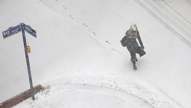 Doğu'da Yoğun Kar Yağışı Uyarısı!