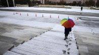 Ankara'da İlk Kar Düştü…