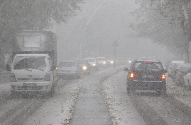 Ankara'da İlk Kar Düştü