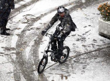 Mevsimin ilk kar haberi geldi…