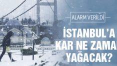 İstanbul'da Kar Ne Zaman Başlayacak?