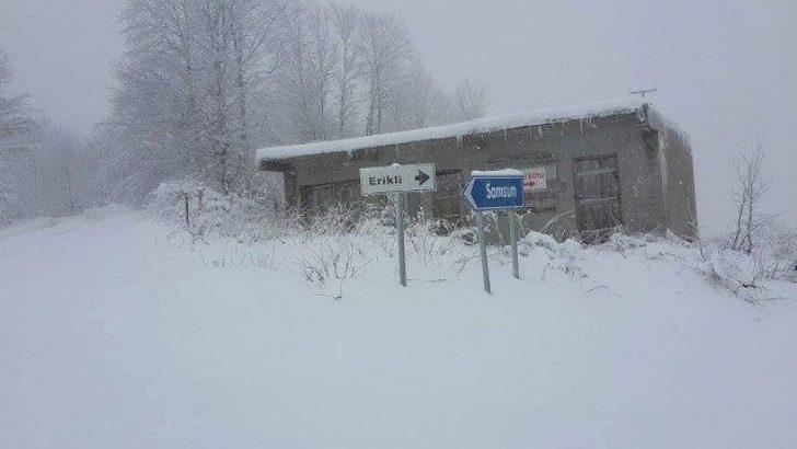 UYARI: Orta Karadeniz İçin Yoğun Kar!