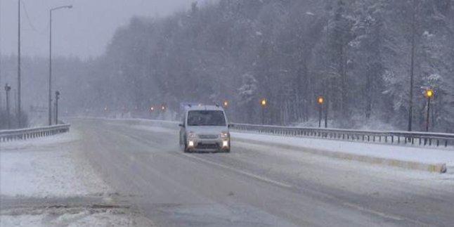 UYARI: Trakya'da Yoğun Kar !