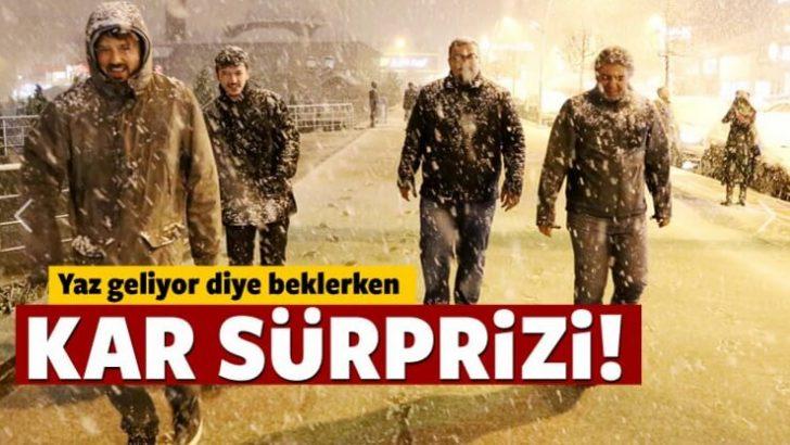 Yaz Geliyor Derken Kar Geldi !
