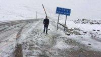 Rize'de Haziran Ayında Kar Yağdı !