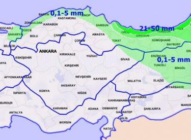 Yağış Tahmin Haritası