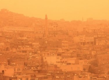 Korkulan Toz Fırtınası Mardin'e Ulaştı !