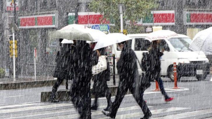 23 Nisan Pazar Hava Fırtınalı, Soğuk ve Yer Yer Karlı !