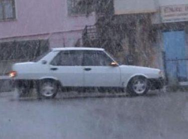 Ankara'da Mevsimin İlk Kar Yağışı…