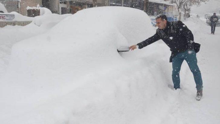 Konya ve Karaman'da Kar Rekoru!