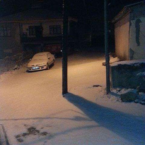 İstanbul'da Kar Yağışı - Esenyurt