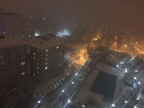 İstanbul'da Kar Yağışı - Kartal