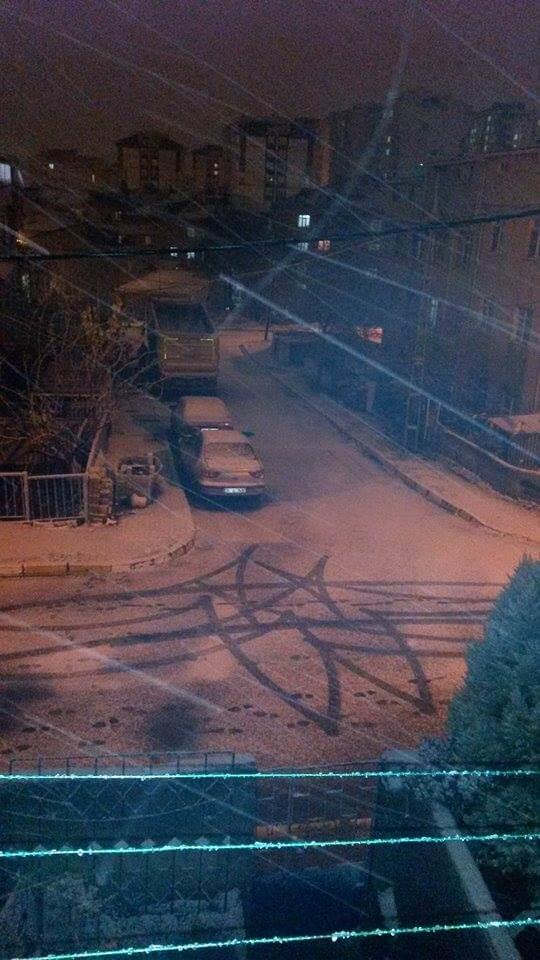 İstanbul'da Kar Yağışı - Pendik
