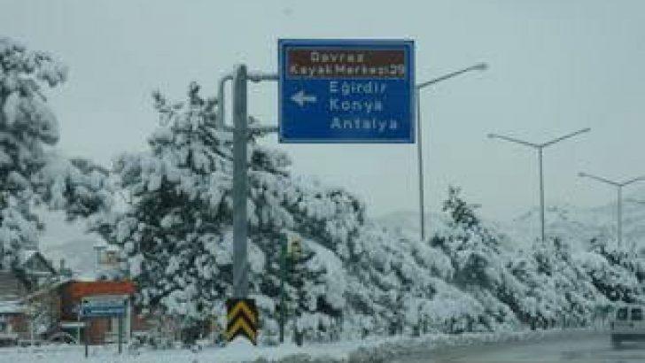 Batı Akdeniz'de Yoğun Kar Bekleniyor!