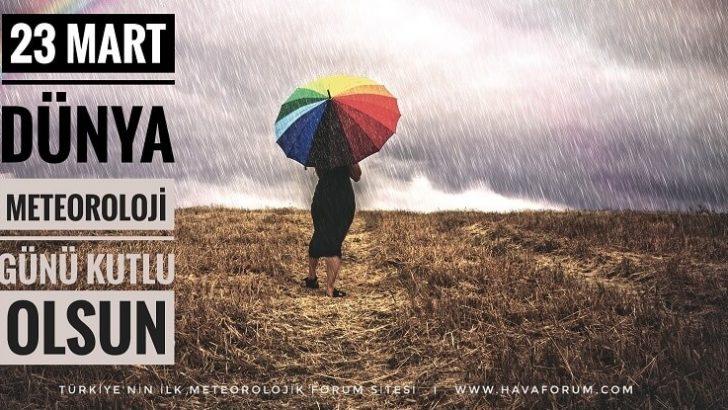 23 Mart Dünya Meteoroloji Gününe Özel Hediye !