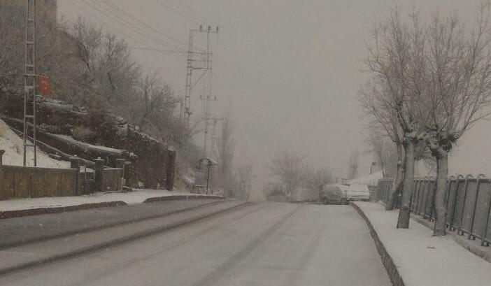 kayseri-mart-kar-yagisi