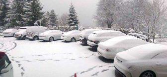 Nisan'da Kar Yağışı !