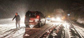 Kütahya'da Kar Etkili Oluyor !