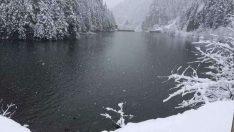 Bolu'da Kar Etkili Oluyor…