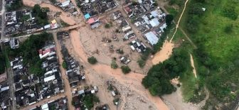Kolombiya'da sel felaketinden ölenlerin sayısı 250'yi geçti !